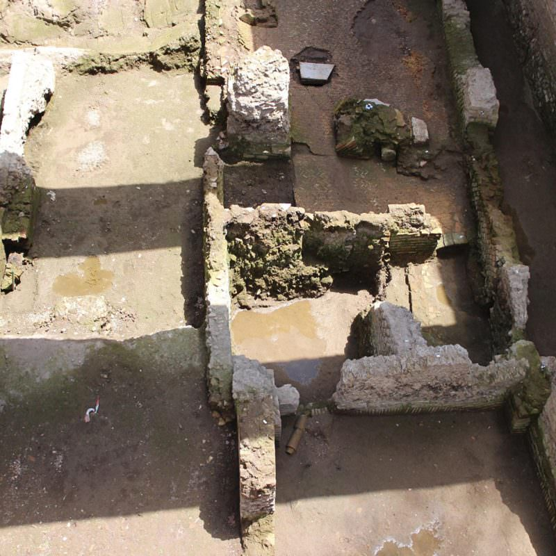 Ruins of the second-century home of a Roman military commander