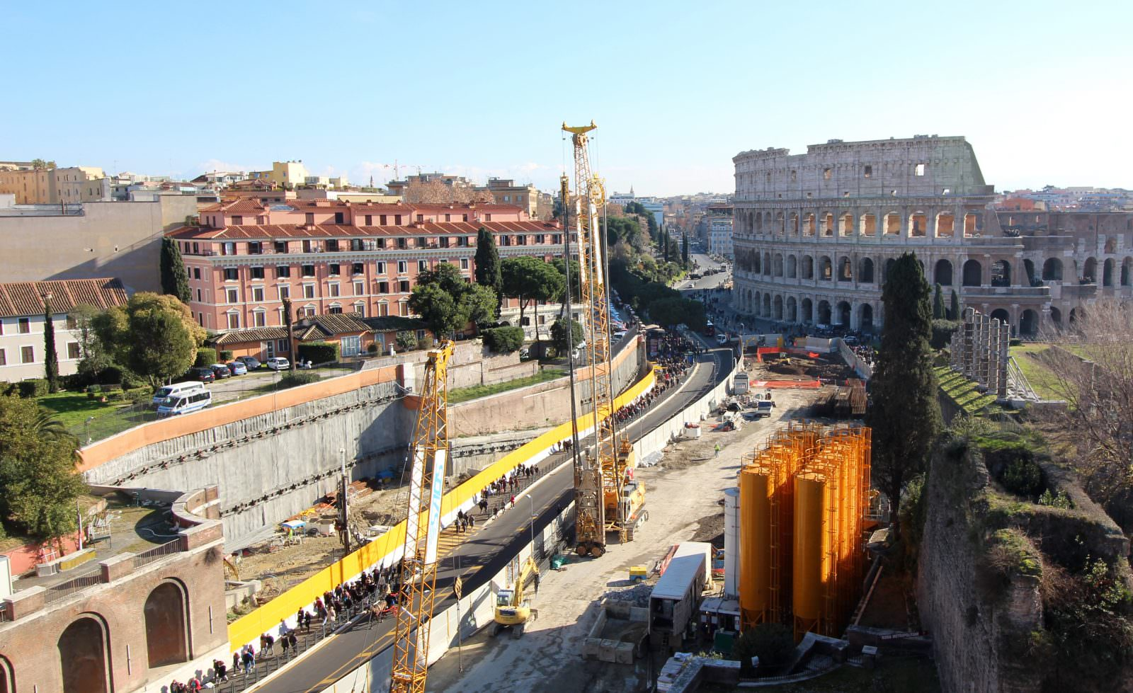 Panoramica di cantiere 2016